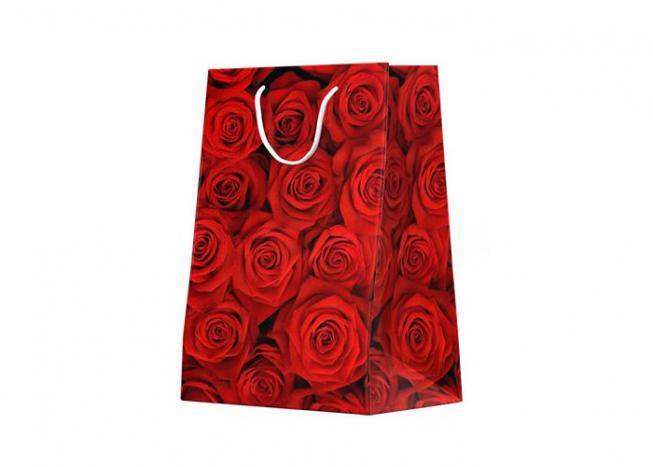 a56fe567d4135 Torebka na prezent - ładny wzór kwiatowy 5 - Wybierz nasze torebki ...